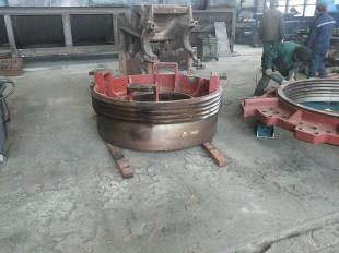 ООО «Канмаш ДСО» освоило изготовление дробилок конусных типоразмера КМ КСД-1200 Гр (Т)