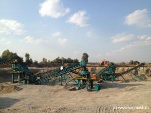 В Ставропольском крае произведен запуск дробильно-сортировочного комплекса ООО «Канмаш ДСО»