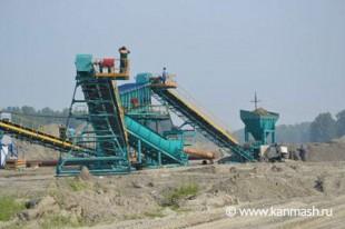 Дробильно-сортировочный комплекс (120-150 куб.м/час) в Новосибирской области