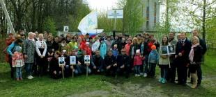 Трудовой коллектив ООО «Канмаш ДСО» принял участие в торжественных мероприятиях, в рамках празднования 72 годовщины Победы в Великой Отечественной войне.