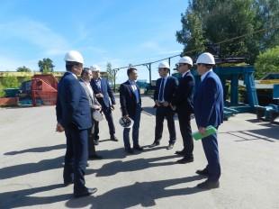 Канмаш посетила делегация из Министерства промышленности РФ