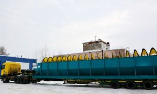 Самый большой спиральный  классификатор отправлен в Смоленскую область