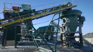 Запуск нового дробильно-сортировочного комплекса в Башкирии