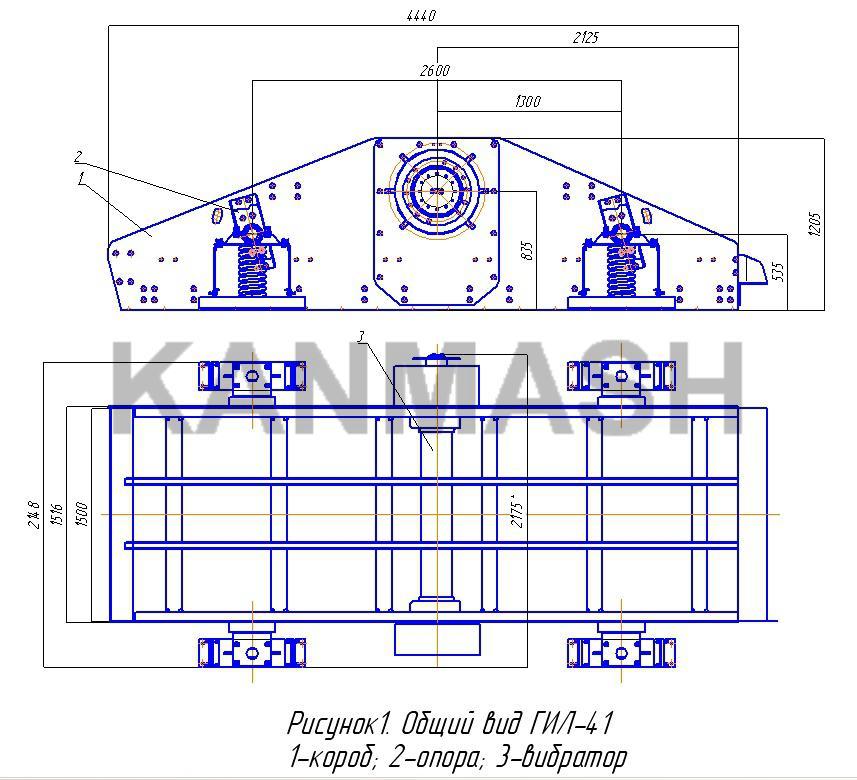 Инструкция по эксплуатации грохота гил-42 дробилки для камня