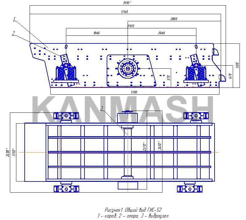 Грохот гис-52 технические характеристики мобильная дробилка для щебня